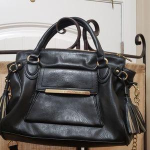 Steve Madden Black Cross Body Bag
